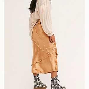 Free people solid serious swagger skirt